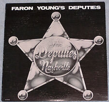 Faron Young Band The Deputies Nashville LP Record Orange Blossom Special