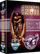 NRL - MANLY SEA EAGLES Premiers Victory Pack GRAND FINAL (DVD, 2011, 4-Disc Set)