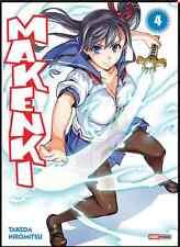 Manga Maken Ki tome 4 Livre Neuf Hiromitsu Takeda Ecchi Shonen Makenki Panini VF