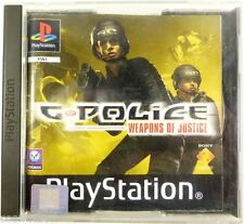 PlayStation 1 jeu video G POLICE Weapons of Justice gp testé console psx ps1 ps2