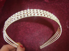 Brides/Bridesmaid Diamante Alice  Head Band              *  FREEPOST.UK SELLER*
