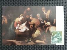 SPAIN MK 1963 HOLY FAMILY HL. FAMILIE MAXIMUMKARTE MAXIMUM CARD MC CM c1660