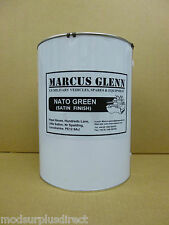 Military Vehicle NATO Green Paint 5 Litres, Satin Finish - High Quality