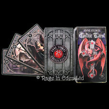 *GOTHIC TAROT* By Anne Stokes With 78 Coloured Art Illustrated Cards