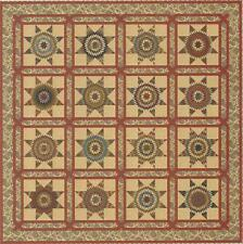 Texas Star quilt pattern by Edyta Sitar of Laundry Basket Quilts