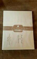 """Great Papers Triple Pearl Embossed Border Ivory Bulletin, 5.5""""x8.5"""", Qty 50"""