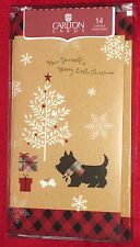 Scottish Terrier Scottie Dog Christmas Cards Sparkling New Design - Last box!