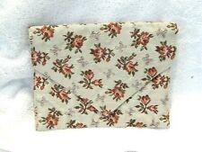 Vintage Handmade Hoisery Nylons Travel Bag Pouch Upholstery Material Travel