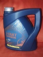 Mannol 2-Takt Öl Universal 1x4 Liter Zweitaktöl mineralisch - 2T Motoröl API TC