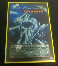 Custom Yugioh Oricas (Pro Series): Full Art Blue-Eyes White Dragon