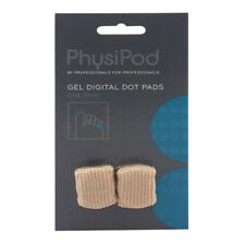PhysiPod Silicone Gel Digital Dot Pads Elastic Insole Support Cushion Pair