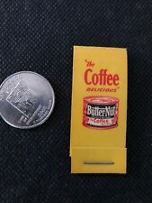 VTG BUTTERNUT COFFEE Hosiery Mending Kit Purse size SEWING Stop Runs ADVERTISING