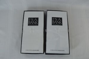 Jos A Bank LOT OF 26 Fine Cotton Handkerchiefs / Pocket Squares BRAND NEW IN BOX