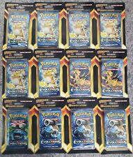 Pokemon Xy Evolutions Blister Pack Plus 5  - 12 Packs - 180 Cards Total - NEW