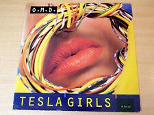 "OMD/Tesla Girls/1984 Virgin 12"" Single/Orchestral Manoeuvres In The Dark"