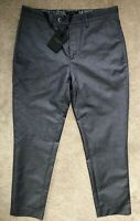 "TED BAKER MEN'S BLUE ""NUTRO"" SLIM FIT TROUSERS PANT'S CHINO'S - 32R - NEW & TAGS"