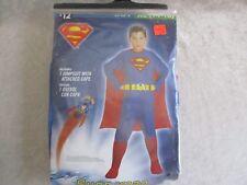 DC Comic Superman Boys Halloween Costume - XL - NIB
