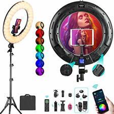 weeylite 18inch Rgb Ring Light Kit Weeylite 360 Full Color 17 Scenes 2500K 8500K