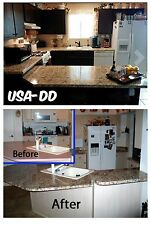 """Instant Granite Countertop Slab Cover Decorate Kitchen Cabinets Marble 36"""" x144"""""""