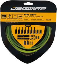 Jagwire Pro Shift Cable Kit Road/Mountain SRAM/Shimano, Organic Green