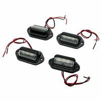 4 x3 LED  Targa Luci Marker Lights  Lampada per Autocarro Camion Van Roulotte