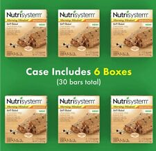 CASE of 30 NUTRISYSTEM Soft Baked Chocolate Chip Baked Breakfast Bars EXP: 10/20