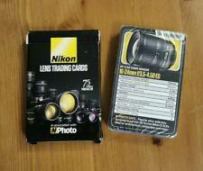 NIKON Lens Trading cards NEW sealed