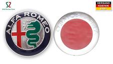 Alfa Romeo Emblem Logo vorne o. hinten 1 Scudetto Abzeichen Wappen Alu Aufkleber