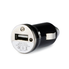 USB Mini Car Charger Adaptor 1 Amp For HTC iPhone BlackBerry Samsung iPod