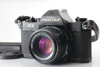 [Excellent+++++] Asahi Pentax K2 SLR Camera w/ M 50mm f/2.0 Lens From Japan #291