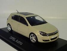 Minichamps 1/43 Opel Astra H metallic-beige OVP #9480