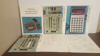 Texas instruments TM900 series microcomputer modules GUIDES & INSERTS
