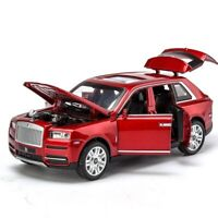 Diecast Rolls Royce Cullinan Models Of Cars Model Pull Back Doors Can Be Opened