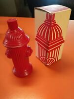 "Vintage Avon ""No Parking"" Fire Hydrant bottle. 'Wild Country' After Shave. Full"