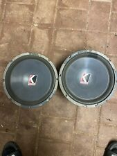 "Kicker Solobarics 12"" Oldschool S12 4ohm"