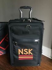 Tumi Black 2 Wheeled Expandable Carry-On Luggage LIMITED EDITION 22220 $795 NWT