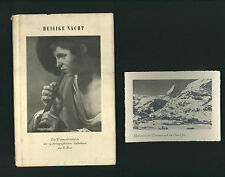 Heilige Nacht (1950) German Christmas book * Holy Night Nativity Eugene Gautschi