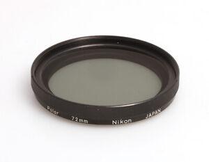 Nikon Polar Polfilter Linear 72mm aus den 70er Jahren