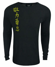 New Jaco Kanji Fitness Mens Size- Small Thermal Black Shirt