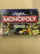 HASBRO Monopoly Teenage Mutant Ninja Turtles Edition Trading Board Game 491255