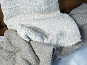 "100% Pure Flax Linen Blanket/Throw  79""X 44"""