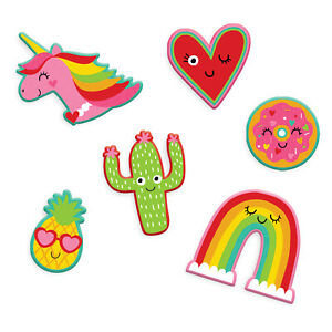 Valentines Peel & Stick Embroided Patches x 6
