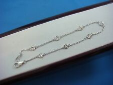 "!GORGEOUS 0.60 CT ""DIAMONDS BY THE YARD"" 7 STATIONS LADIES BRACELET, 7 INCH LONG"