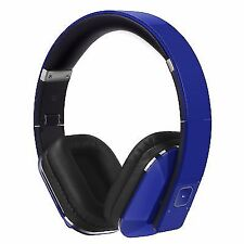 August Ep650 Blue Bluetooth Wireless Stereo NFC Headphones