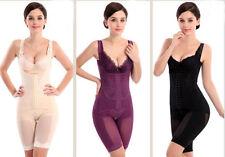 UK Women Body Shaper Slimming Waist Underbust Tummy Thigh Control Pants M-XXXL