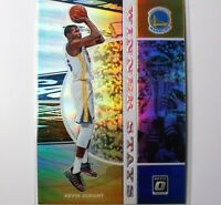 2019-20 Optic KEVIN DURANT Golden State Warriors #18 ~ Winner Stays Silver Holo
