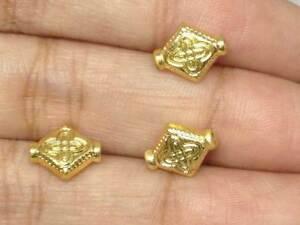 29 Losanga Inciso Antico Dorato Ciondoli Perline Spaziatrici' Jewelryfindings