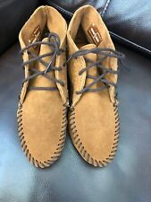 Minnetonka Women's moccasins booties low boots size 7 suede leather style 272