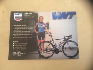 Aafke Soet WNT-ROTOR Pro Cycling Women's Rider Card