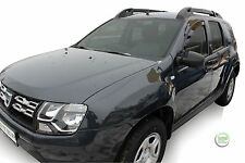 DACIA DUSTER  2WD / 4WD 2010-2017 SET OF FRONT WIND DEFLECTORS HEKO TINTED 2pc